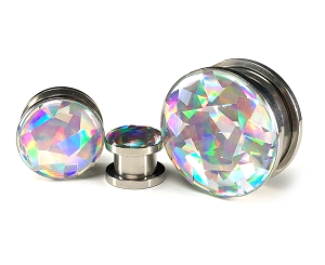 Embedded Silver Holographic PRISM Plugs