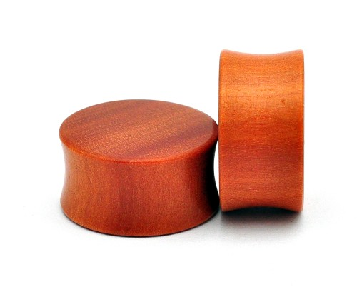 Saba Wood Plugs (Flat Ends)