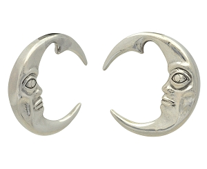 316L Surgical Stainless Steel Moon Hangers