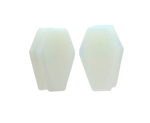 Opalite Coffin Shaped Plugs