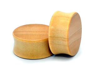Crocodile Wood Plugs (Flat Ends)