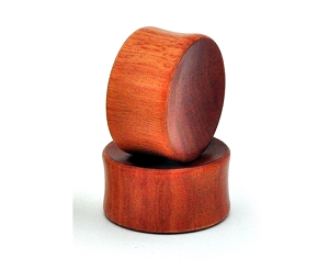 Saba Wood Plugs (Concave Ends)