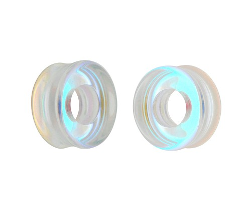 Aurora Borealis Iridescent Glass Tunnels