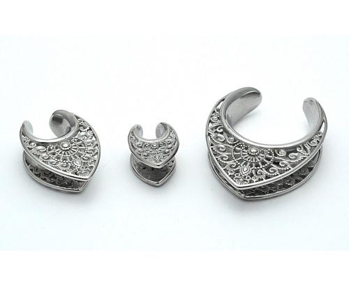 316L Stainless Steel Saddle Spreaders with Filigree Design