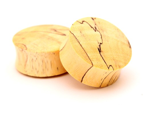 Tamarind Wood Plugs (Convex Ends)